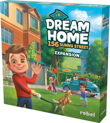Review: Dream Home 156 Sunny Street Expansion – Jambalaya Plays Games